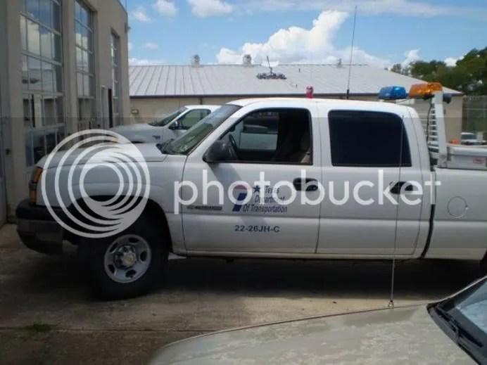 Texas DOT Truck - 1