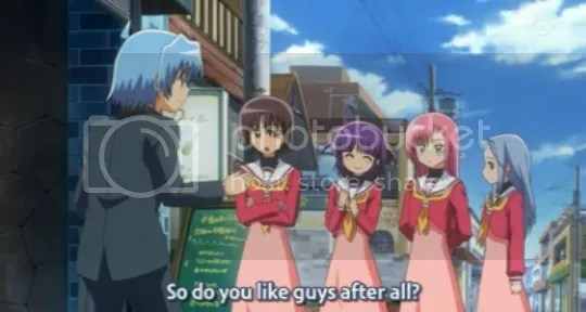 Is Hayate really gay? =0