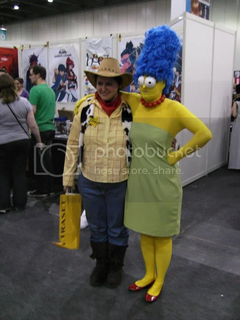 Wendy and Marge? Random much?