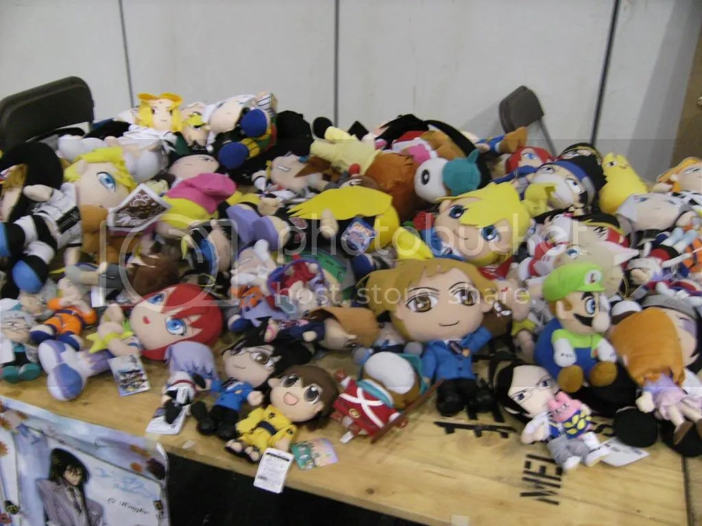 Aww... The plushies that didnt go home with anybody...
