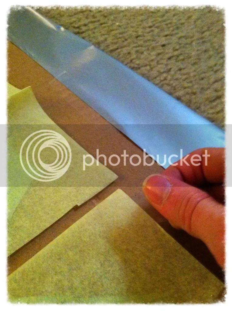 tape edges