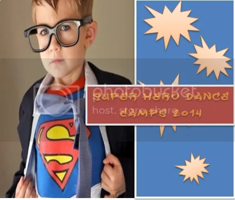 Super Hero Dance Camps