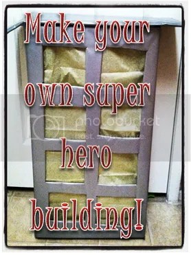 Make your Own Super Hero Building