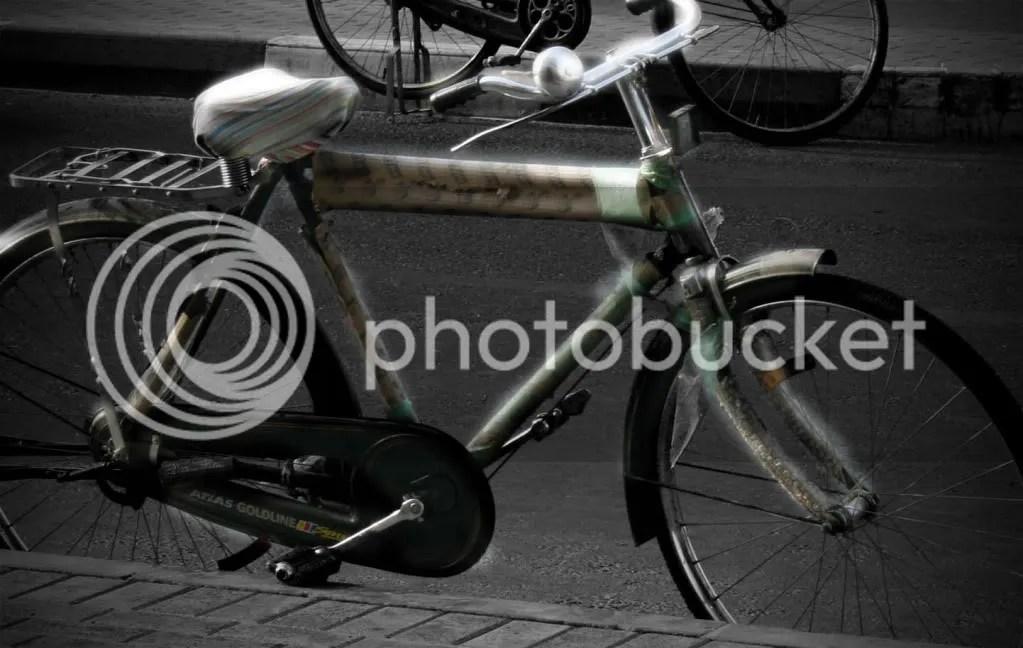 old bicycle photo: Bicycle Bisikleta.jpg
