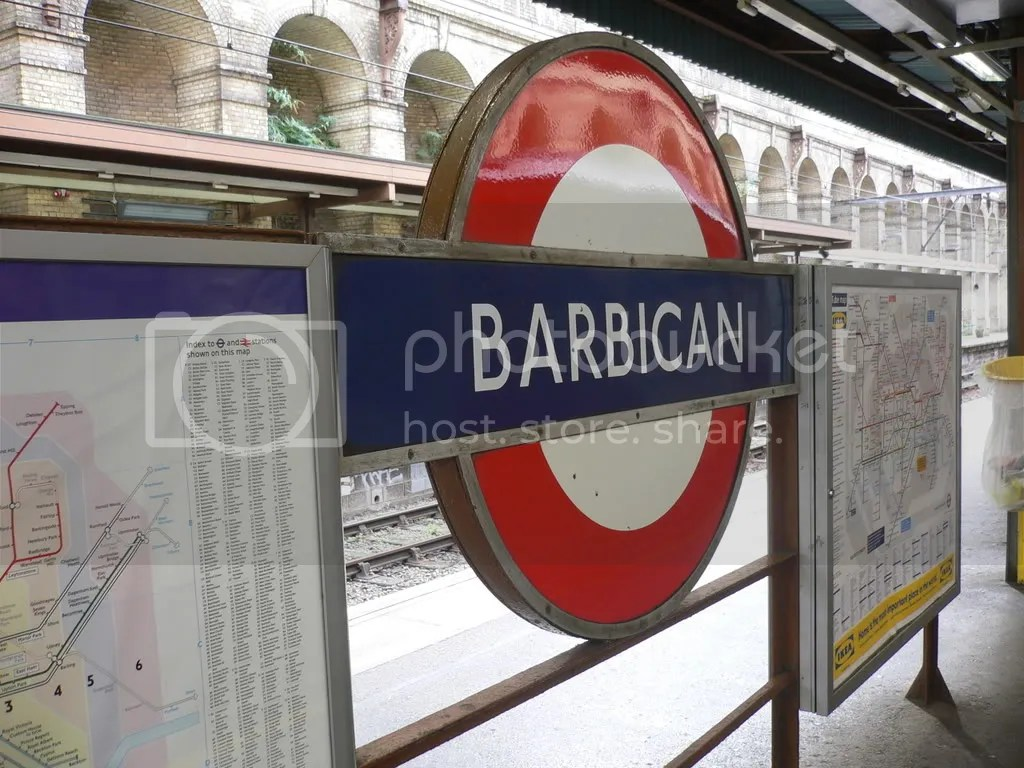 Barbican station Pictures, Images and Photos