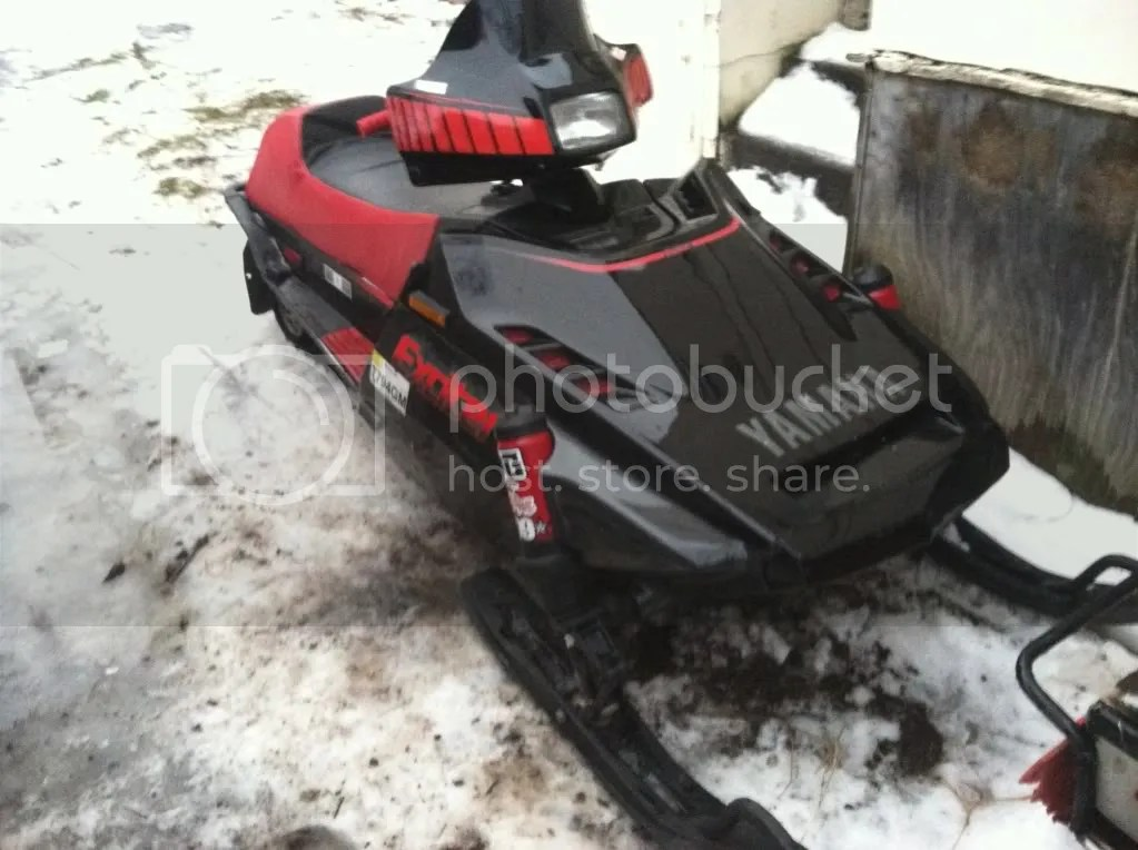 Yamaha Exciter 570 Snowmobile