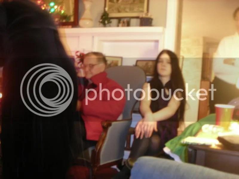 Dad and Kat at Nancy's