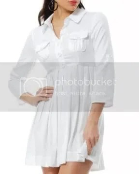The white shirt dress - simple, practical and fashionable