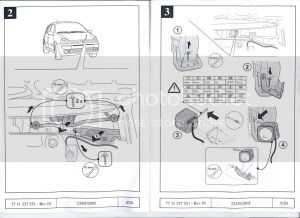 Clio 172182 Cobra Alarm Fitting InstructionsWiring