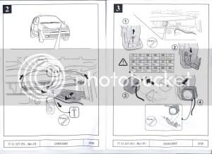 Clio 172182 Cobra Alarm Fitting InstructionsWiring