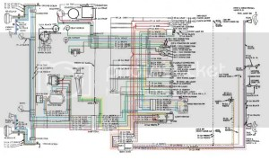 56 Wiring Diagram (COLORED)  TriFive, 1955 Chevy 1956