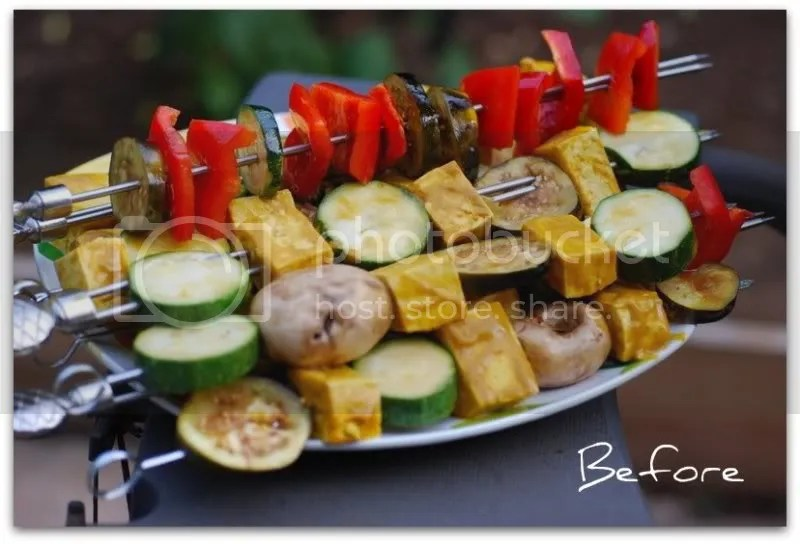 Mango Marinated Tofu Kabobs | Cooking at the Pacific Outpost