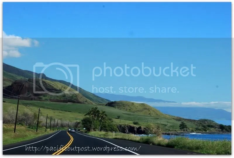 The Drive Home to Kihei from Lahaina