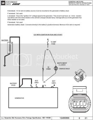 Alternator Exciter Wire Wiring Help!  Third Generation F