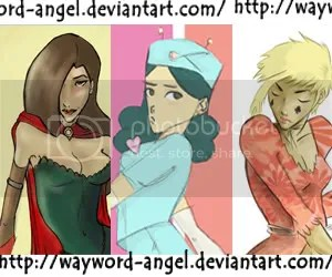 Wayword Angel - Deviant Art banner