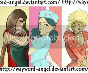 Wayword Angel - Deviant Art banner