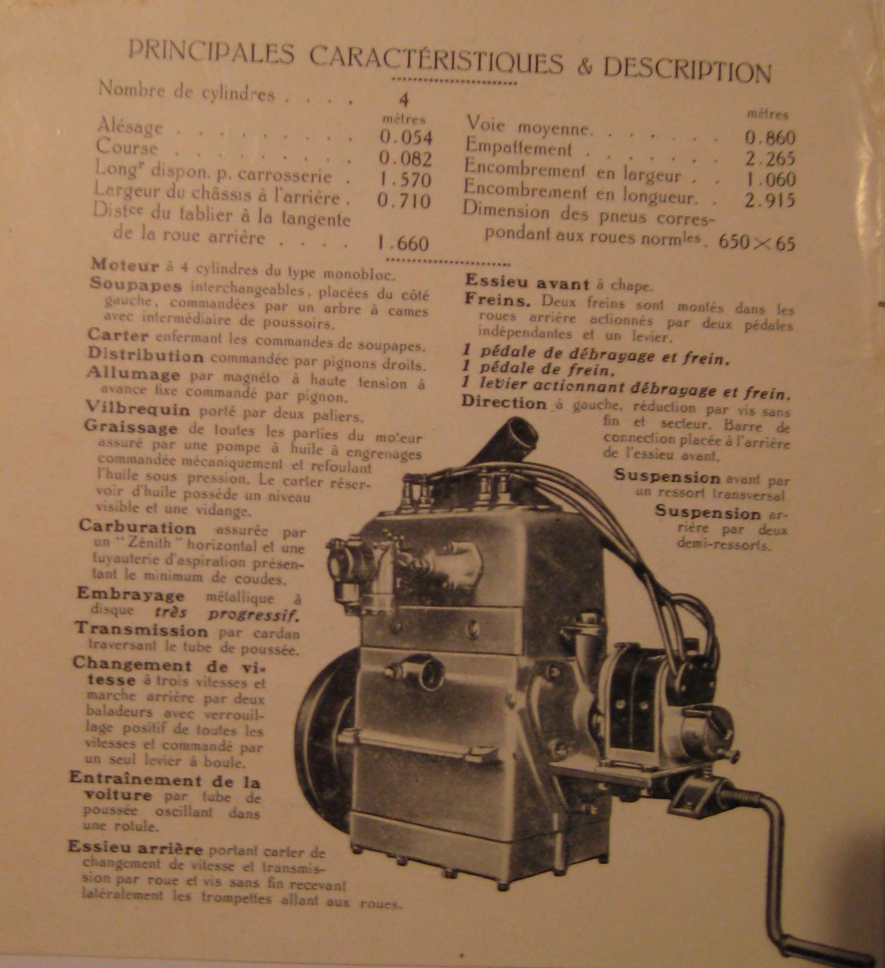 Benjamin 2 Zylinder Motor 1921