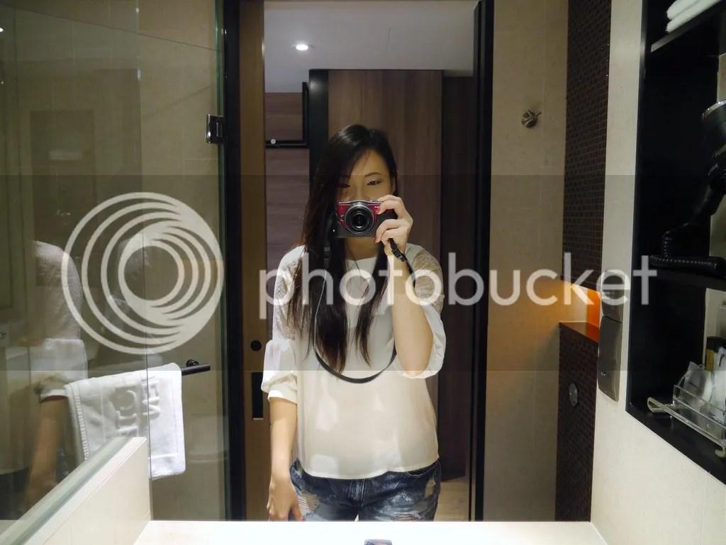 selfie at HJT hotel jen tanglin