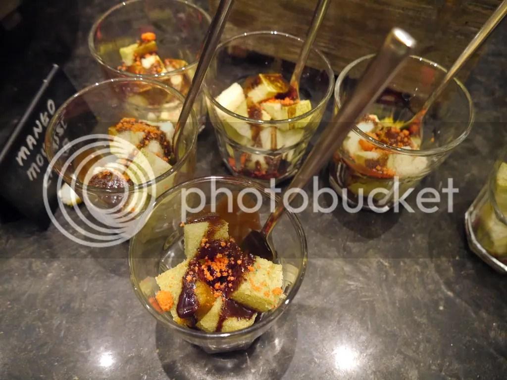 J65 Hotel Jen Tanglin pistachio cake