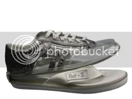 2 in 1 Zipper Shoe