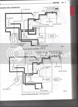 89 25 yj need vacuum lines diagram  JeepForum