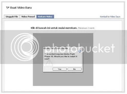 cara merekan video di facebook
