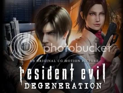 Resident Evil Degeneration Movie Teaser Trailer