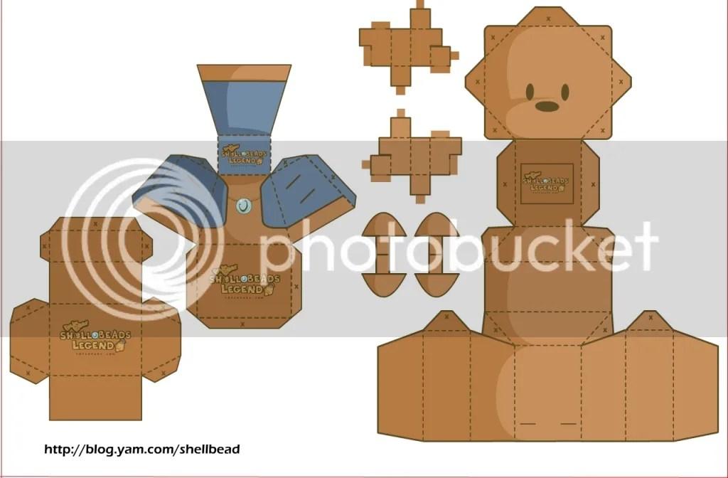 產品,宣傳,shellbeadslegend ,貝珠傳說,娛樂,DIY製作,立體紙模型,週邊