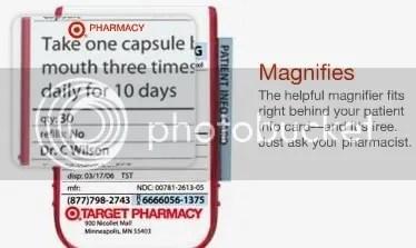 Target ClearRx Pill Bottle | technogad