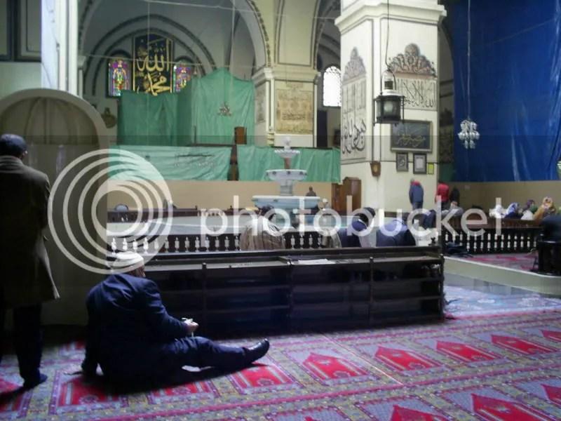Interior part of Ulu Camii