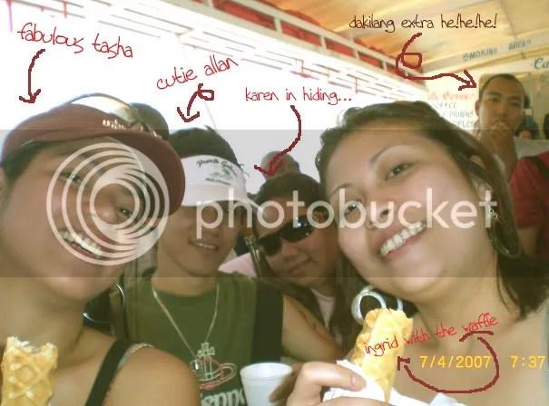 a GALERA trip with me, ingrid, tasha and karen