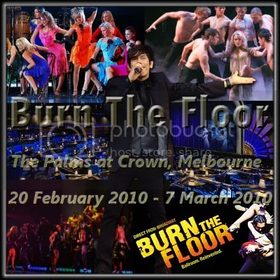 MiG with scenes from Burn the Floor, linking to www.mig-music.com