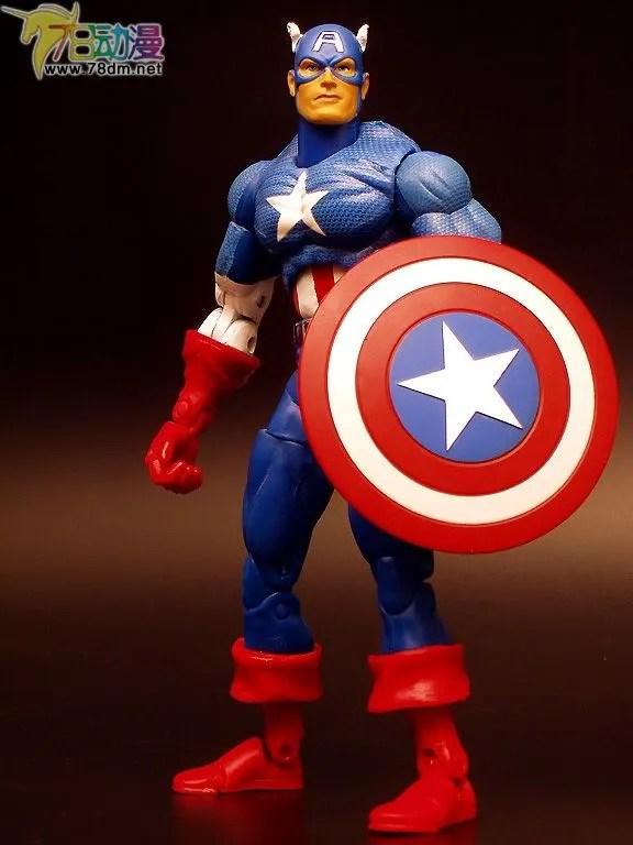 Captain America 美国队长 Marvel Legends Series 1 惊奇漫画传奇系列可动玩具