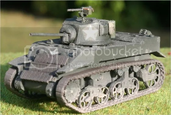 Stuart tank by Company B