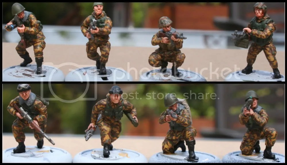 Red Star Miniatures painted in Mountain camo