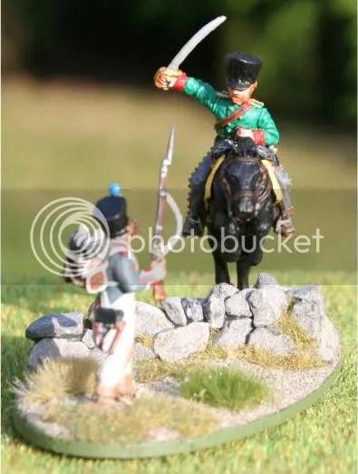 Feldjäger attacking Fusilier