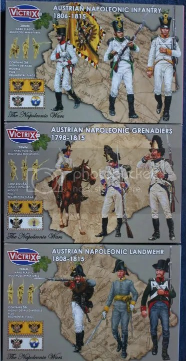 Victrix Austrian boxes