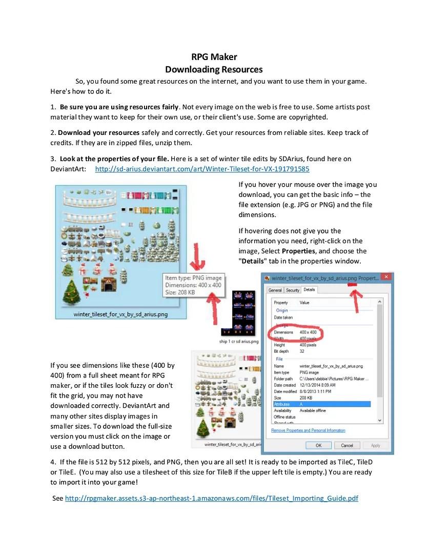 GrandmaDebsLittleBits | RPG Maker VX / Ace Resources & Stuff