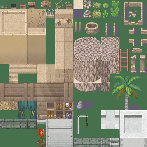 XP to VX/Ace Desert D Tiles