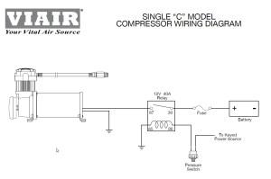 Viair 100C Compressor Train Horns, Air Ride Suspension