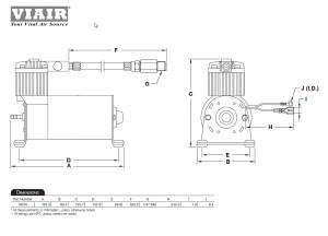 Viair 100C Compressor Train Horns, Motorcycle, Air