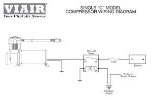 Viair 90101 Air Ride Suspension Pressure Switch 85105 PSI