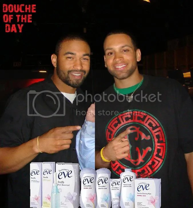 DOUCHE OF THE DAY: JAMES LONEY AND MATT KEMP