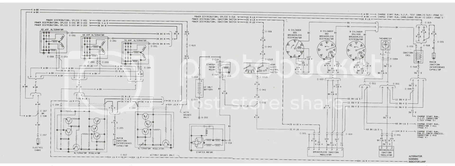 Ford F 250 Voltage Regulator Wiring Diagram