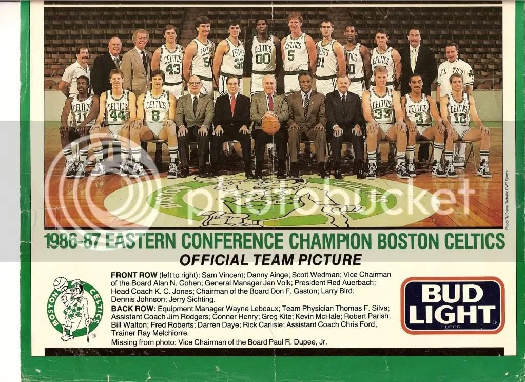 Boston Celtics 1986-1987