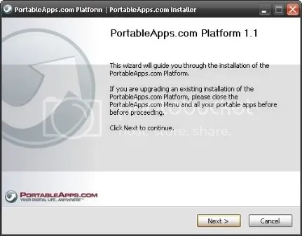 Flash Disk'e Program Yükleme: PortableApps (3/6)