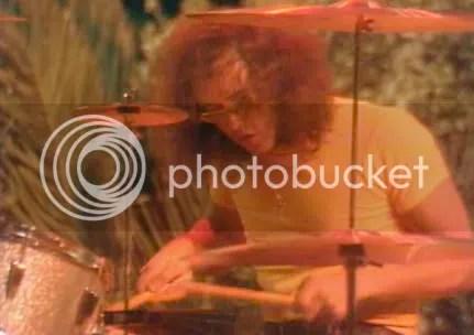 Ian Paice en el solo de batería