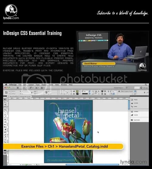 InDesign CS5 Essential Training