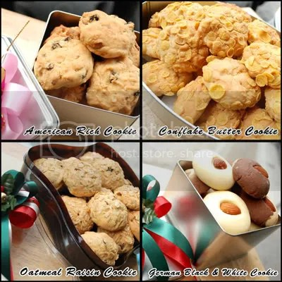 X's Mas & New Year Cookies – Set 1