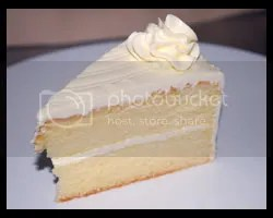 Vanilla Sponge Cake with Italian Meringue Butter Cream
